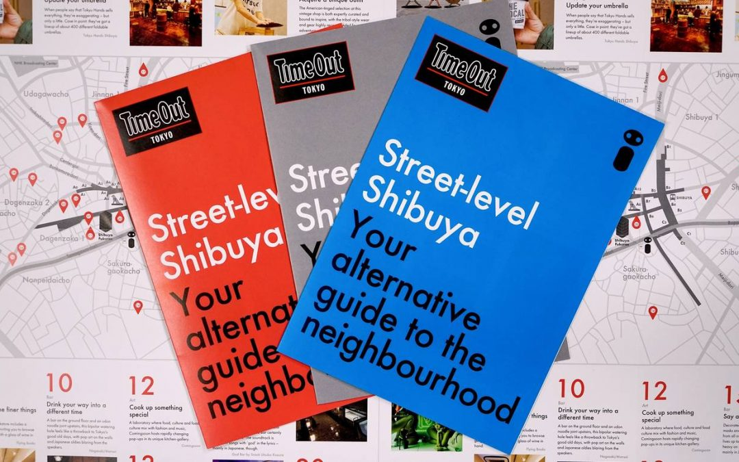観光案内所、シブヤサンの英語ガイドマップをリリース