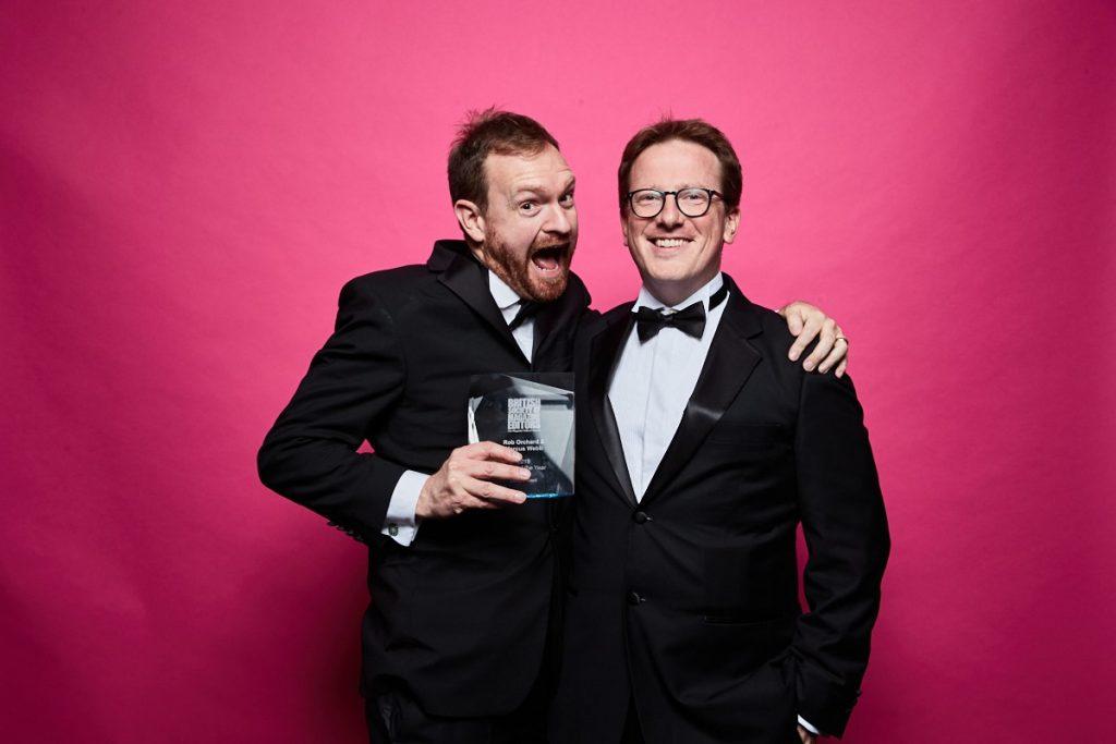 Marcus Webbが、ロンドンで開催された「THE 2019 BSME AWARDS」にてエディターオブザイヤー賞を受賞